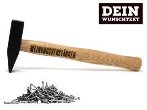 Hammer mit Gravur