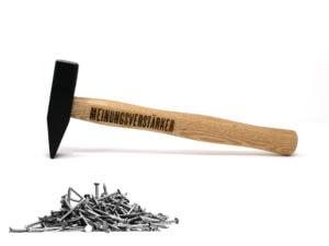 personalisierter Hammer mit Gravur