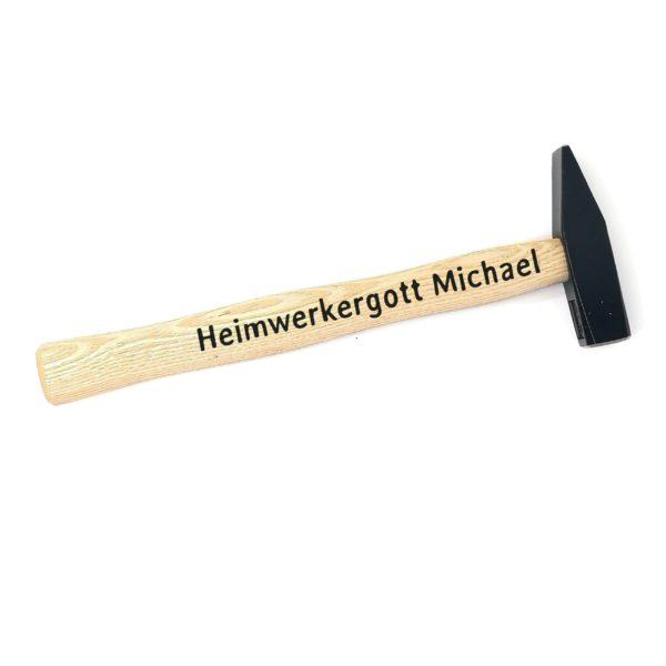 Hammer mit Gravur Beispiel