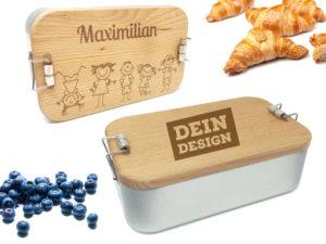 Lunchbox mit Gravur