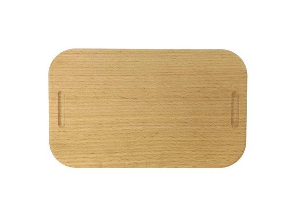 Lunchbox mit Gravur Holzdeckel Gravurbild