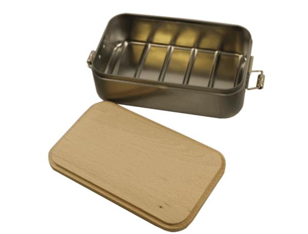 Lunchbox mit Gravur Innenseite