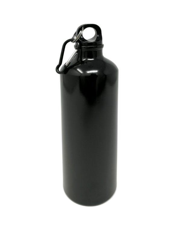 Trinkfalsche schwarz mit Gravur