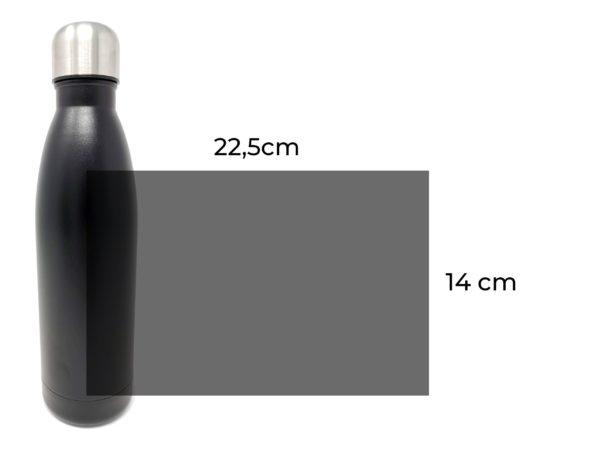 Isoflasche mit Gravur