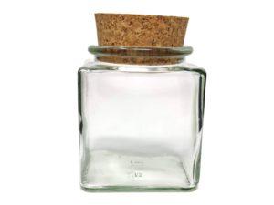 Glas Eckig mit Gravur