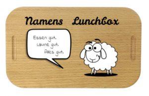 Lunchbox mit Gravur Essen gut Laune gut alles gut
