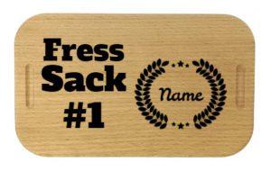 Lunchbox mit Gravur Fresssack