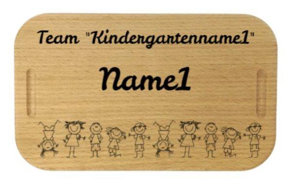 Kindergartenlunchbox mit Gravur