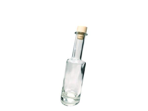 Flasche schräg klein