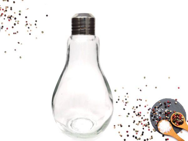 Salzstreuer Pfefferstreuer Glühbirne