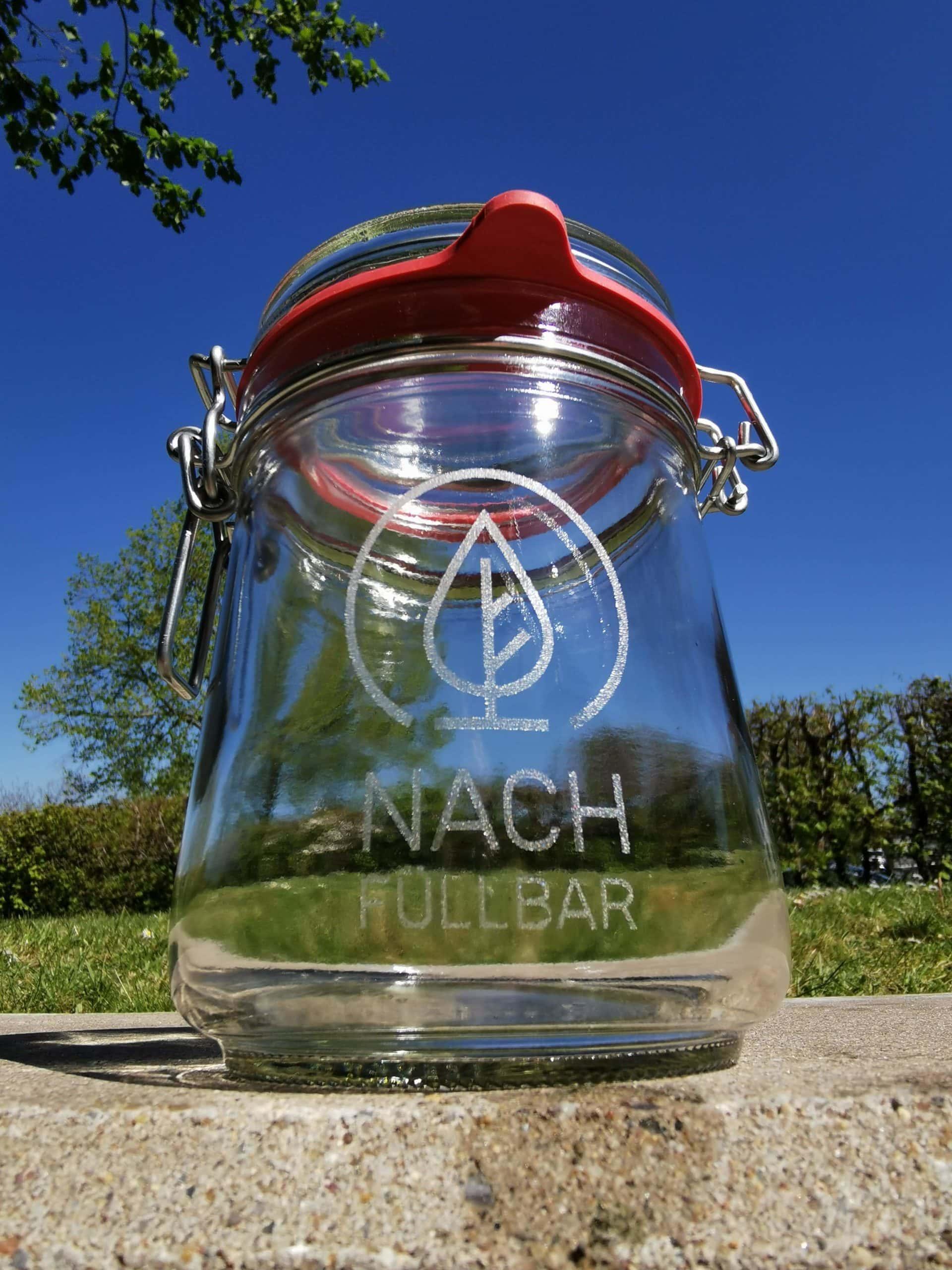 Sonderanfertigung Gravur Einmachglas Nachfüllbar Kassel