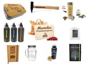 Übersicht Selbst gestaltbare Produkte mit Gravur auf Laserliebe.de Produkte mit Lasergravur