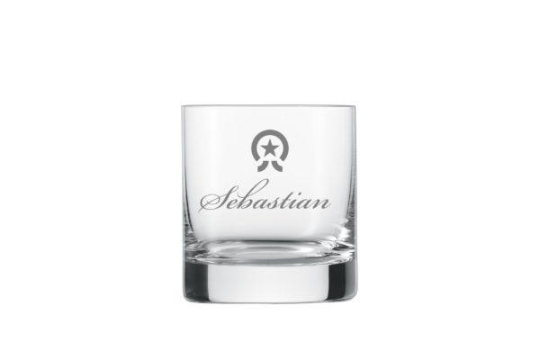 Whiskyglas mit Gravur1