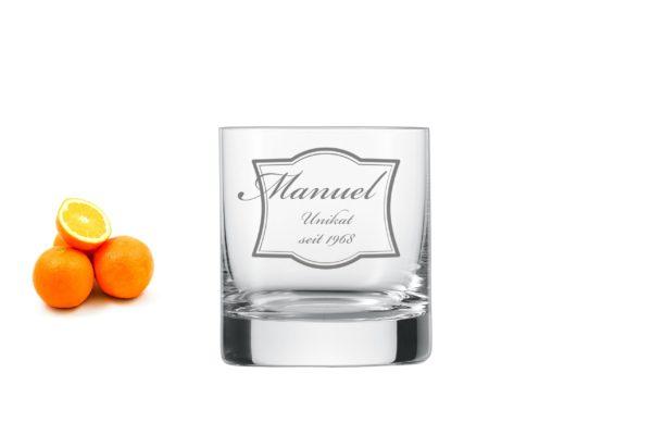 Whiskyglas mit Gravur2