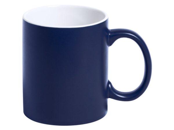 Tasse mit Gravur Blau