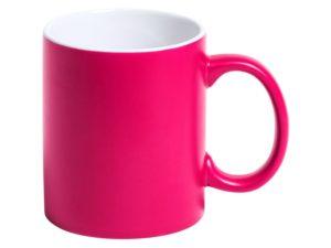 Tasse mit Gravur Pink