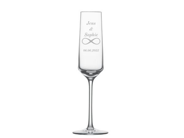 Sektglas Graviert Hochzeit