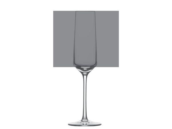 Sektglas Pure mit Gravurfläche