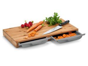Küchenrett mit Fächern und Gravur