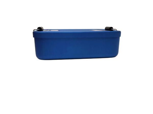Vesperdose Metall Seitlich blau