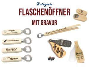 Personalisierte Flaschenöffner mit Gravur & Logo