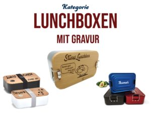 Lunchboxen mit Gravur
