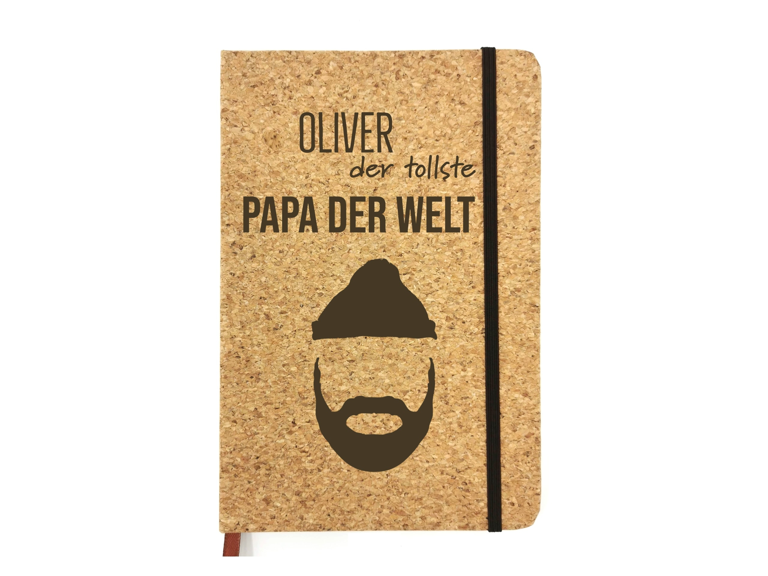 Notizbuch für Väter mit Gravur