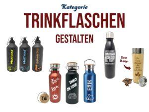 Trinkflaschen mit Gravur