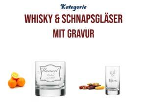 Spirituosengläser | Whiskygläser & Schnapsgläser mit Gravur