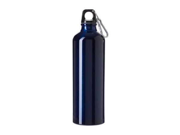 Trinkflasche mit Gravur Dunkelblau