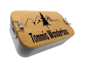 Edelstahl Lunchbox mit Gravur