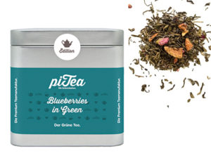Pi Tea Blueberries in green Dose