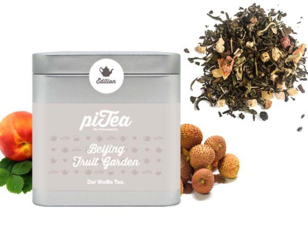 Pitea Dose Bejing Fruit Garden weißer Tee Lychee Pfirsich1