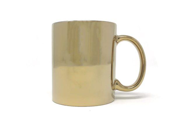 Tasse Gold mit Namen