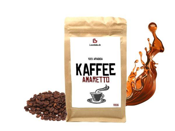 Aroma Kaffee Amaretto Aromatisierter Kaffee ganze Bohne 250g