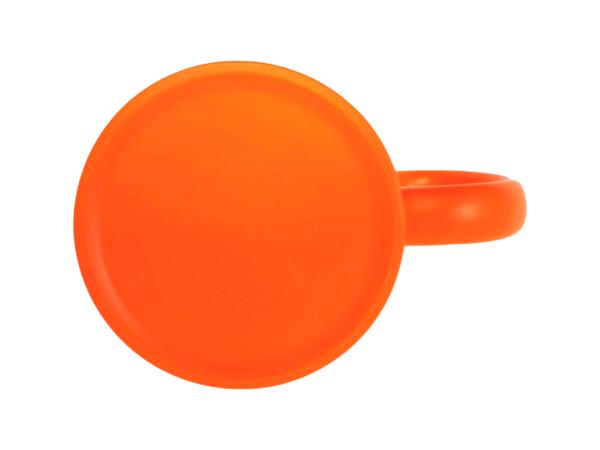 Tassenboden Neon Orange