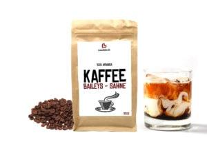 Aromatisierter Kaffee Baileys Sahne ganze Bohne 250g